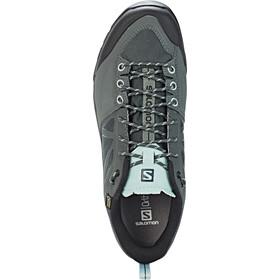 Salomon X Alp SPRY GTX Chaussures Femme, balsam green/urban chic/canal blue